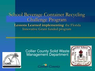 Collier County Solid Waste Management Department