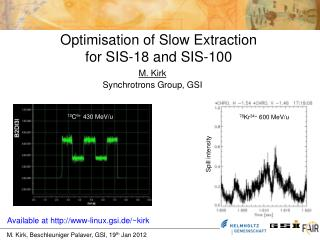 Optimisation of Slow Extraction for SIS-18 and SIS-100
