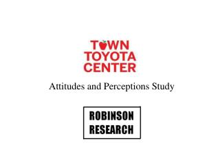 Attitudes and Perceptions Study