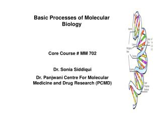 Basic Processes of Molecular Biology
