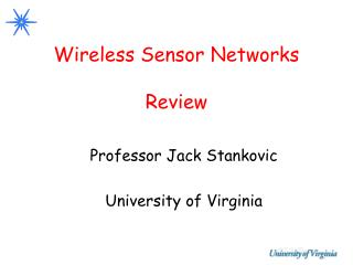 Wireless Sensor Networks Review