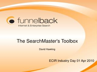 The SearchMaster's Toolbox