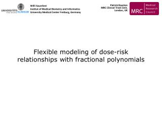 Flexible modeling of dose-risk relationships with fractional polynomials