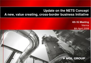 Update on the NETS Concept A new, value creating, cross-border business  Initiative