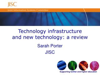 Technology infrastructure and new technology: a review