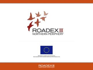 THIS PROJECT IS BEING PART-FINANCED BY  THE EUROPEAN UNION EUROPEAN REGIONAL DEVELOPMENT FUND