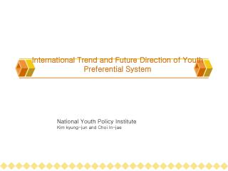 International Trend and Future Direction of Youth Preferential System
