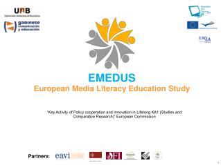 EMEDUS European Media Literacy Education Study