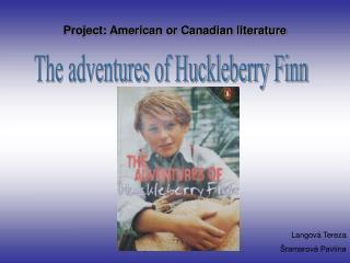 Project: American or Canadian literature