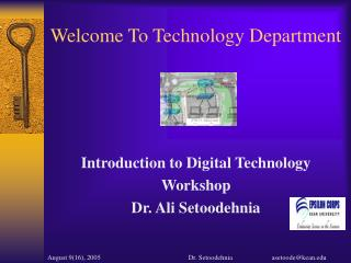Welcome To Technology Department