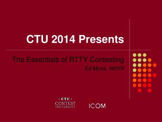 CTU 2014 Presents