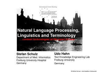 Natural Language Processing, Linguistics and Terminology