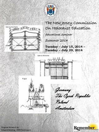 The New Jersey Commission On Holocaust Education Educational Seminar Summer 2014
