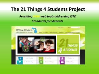 The 21 Things 4 Students Project