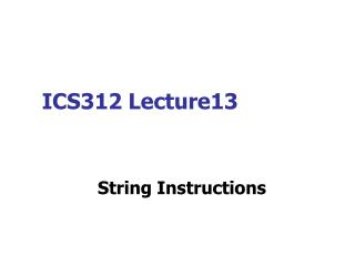 ICS312 Lecture13
