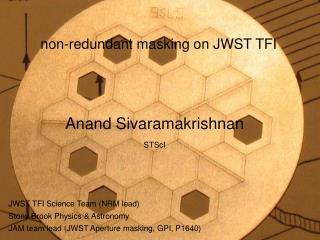non-redundant masking on JWST TFI