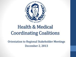 Health & Medical  Coordinating Coalitions