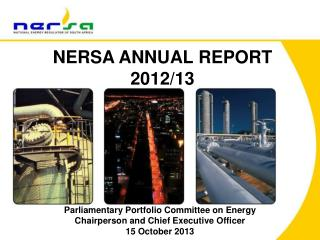 NERSA ANNUAL REPORT  2012/13
