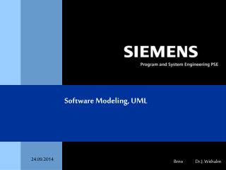Software Modeling, UML