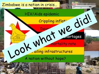 Zimbabwe is a nation in crisis…