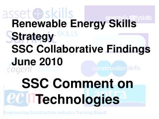 Renewable Energy Skills Strategy SSC Collaborative Findings June 2010