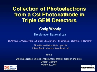 Collection of Photoelectrons from a CsI Photocathode in Triple GEM Detectors