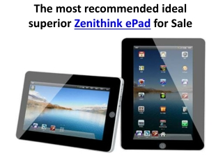 Zenithink ePad