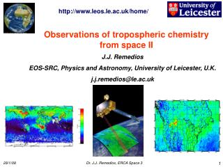 Observations of tropospheric chemistry from space II