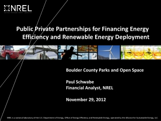 Financing Options in Renewable Energy Sector