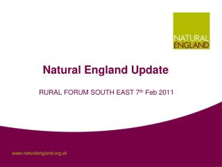 Natural England Update