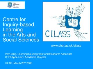 Centre for Inquiry-based Learning in the Arts and Social Sciences