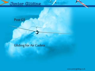 Post GS  Gliding for Air Cadets