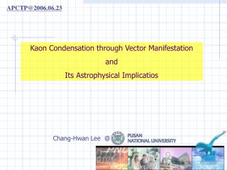 Kaon Condensation through Vector Manifestation and Its Astrophysical Implicatios