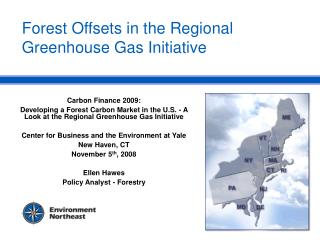 Forest Offsets in the Regional Greenhouse Gas Initiative