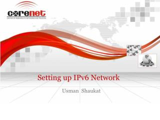 Setting up IPv6 Network