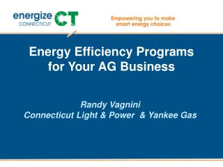 Energy Efficiency Programs for Your AG Business