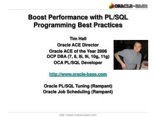 Boost Performance with PL/SQL Programming Best Practices