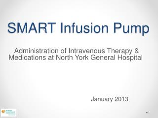SMART Infusion Pump
