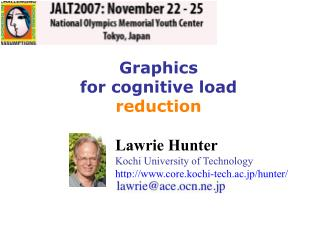 Graphics  for cognitive load  reduction