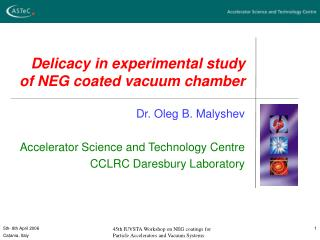 Delicacy in experimental study  of NEG coated vacuum chamber