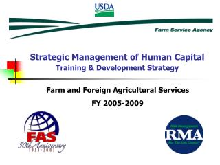 Farm and Foreign Agricultural Services FY 2005-2009