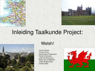 Inleiding Taalkunde Project: