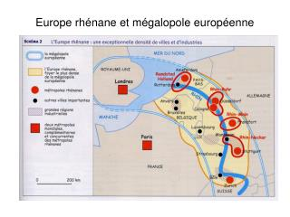 Europe rhénane et mégalopole européenne