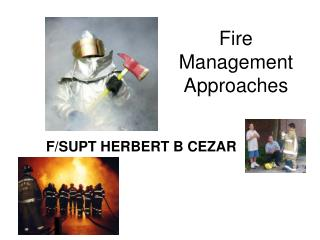 Fire Management Approaches