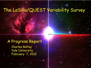 The LaSilla/QUEST Variability Survey