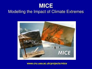 MICE Modelling the Impact of Climate Extremes