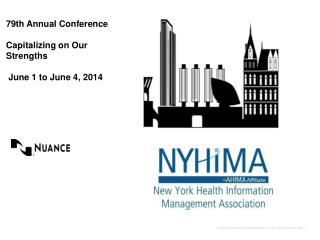 79th Annual Conference  Capitalizing on Our Strengths   June 1 to June 4, 2014