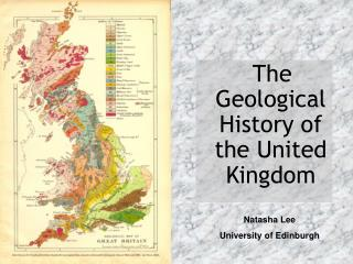 The Geological History of the United Kingdom