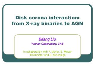 Disk corona interaction:  from X-ray binaries to AGN