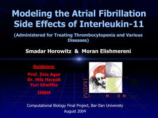 Modeling the Atrial Fibrillation Side Effects of Interleukin-11